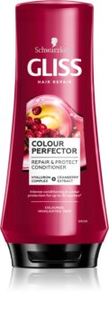 Schwarzkopf Gliss Colour Perfector Suojaava Hoitoaine Värjätyille Hiuksille