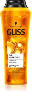Schwarzkopf Gliss Oil Nutritive подхранващ шампоан  с олио
