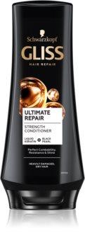 Schwarzkopf Gliss Ultimate Repair Vahvistava Hoitoaine Kuiville Ja Vaurioituneille Hiuksille