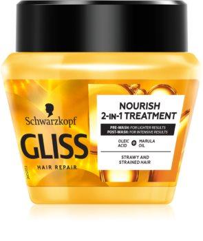 Schwarzkopf Gliss Ultimate Repair подхранваща маска  с олио