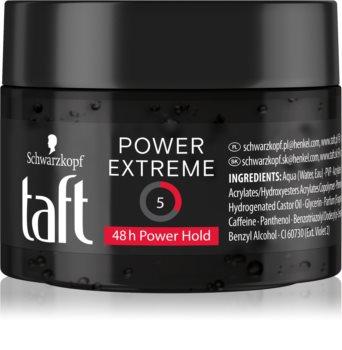 Schwarzkopf Taft Power extra fixierendes Gel für das Haar