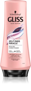 Schwarzkopf Gliss Split Ends Miracle regenerierender Conditioner für fusselige Haarspitzen