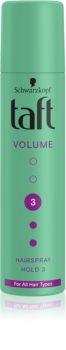 Schwarzkopf Taft Volume Keskipitoinen Hiussuihke Volyymi Efektillä