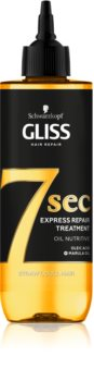 Schwarzkopf Gliss 7 sec възстановителна грижа за слаба, изтощена коса