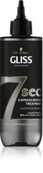 Schwarzkopf Gliss 7 sec regenerierende Pflege für trockenes und beschädigtes Haar