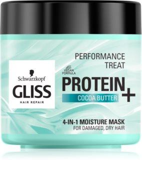 Schwarzkopf Gliss Protein+ хидратираща маска с какаово масло