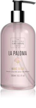 Scottish Fine Soaps La Paloma flüssige Seife für die Hände