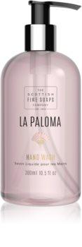 Scottish Fine Soaps La Paloma savon liquide mains