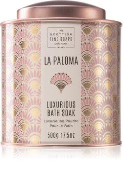 Scottish Fine Soaps La Paloma relaxační sůl do koupele