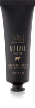 Scottish Fine Soaps Au Lait Noir crema para manos y uñas