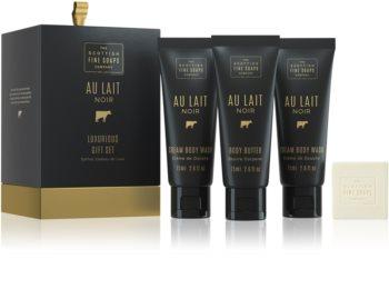 Scottish Fine Soaps Au Lait Noir kit di cosmetici VII. da donna