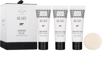 Scottish Fine Soaps Au Lait kit di cosmetici II. da donna