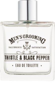 Scottish Fine Soaps Men's Grooming Thistle & Black Pepper Eau de Toilette Miehille
