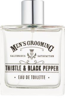 Scottish Fine Soaps Men's Grooming Thistle & Black Pepper Eau de Toilette uraknak