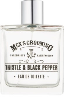 Scottish Fine Soaps Men's Grooming Thistle & Black Pepper toaletní voda pro muže