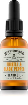Scottish Fine Soaps Men's Grooming Thistle & Black Pepper olej na vousy