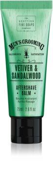 Scottish Fine Soaps Men's Grooming Vetiver & Sandalwood After Shave Balm