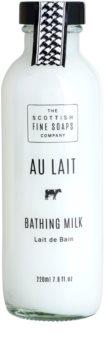Scottish Fine Soaps Au Lait leite de banho