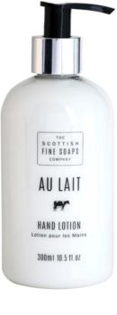 Scottish Fine Soaps Au Lait lait mains