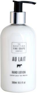 Scottish Fine Soaps Au Lait latte per le mani