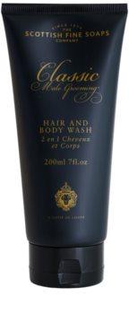 Scottish Fine Soaps Classic Male Grooming sprchový gel pro muže 200 ml
