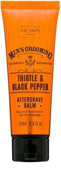 Scottish Fine Soaps Men's Grooming Thistle & Black Pepper After Shave Balm