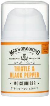 Scottish Fine Soaps Men's Grooming Thistle & Black Pepper gel de rosto hidratante