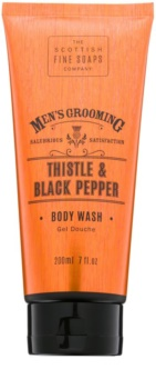 Scottish Fine Soaps Men's Grooming Thistle & Black Pepper Suihkugeeli