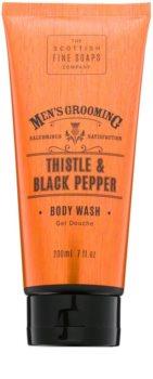 Scottish Fine Soaps Men's Grooming Thistle & Black Pepper tusfürdő gél