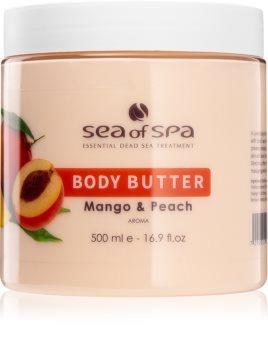 Sea of Spa Dead Sea Treatment beurre corporel à la mangue et pêche
