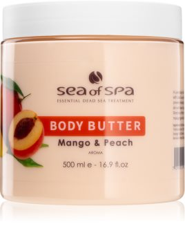 Sea of Spa Dead Sea Treatment Bodybutter mit Mango und Pfirsich
