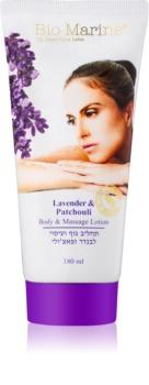 Sea of Spa Bio Marine Lavender & Patchouli lait de massage corps