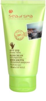Sea of Spa Essential Dead Sea Treatment creme protetor de mãos com minerais do Mar Morto
