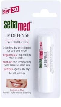 Sebamed Face Care bálsamo labial reparador con filtro UVA y UVB