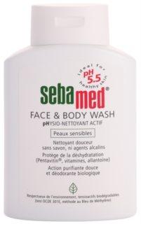 Sebamed Wash emulsione detergente delicata per corpo e viso per pelli sensibili