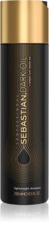 Sebastian Professional Dark Oil hydratační šampon pro lesk a hebkost vlasů