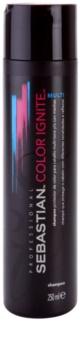 Sebastian Professional Color Ignite Multi champú para cabello teñido, aclarado y químicamente tratado