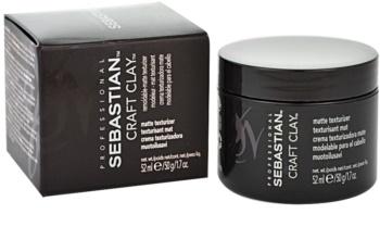 Sebastian Professional Craft Clay lut modelator pentru toate tipurile de păr