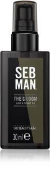 Sebastian Professional SEB MAN The Groom olio districante per barba