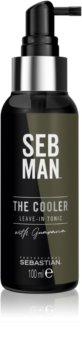 Sebastian Professional SEB MAN The Cooler lozione tonica rinfrescante per uno styling liscio e voluminoso