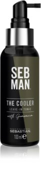 Sebastian Professional SEB MAN The Cooler Verfrissende Tonic  voor Gladde Styling en Volume