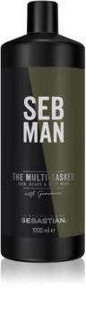 Sebastian Professional SEB MAN The Multi-tasker šampon na vlasy, vousy a tělo