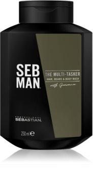 Sebastian Professional SEB MAN The Multi-tasker Shampoo für die Haare, den Bart und den Körper