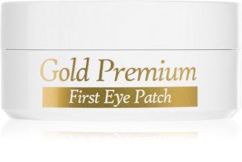 Secret Key 24K Gold Premium хидрогелова маска за зоната около очите с 24 каратово злато