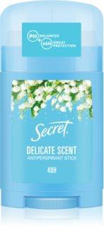 Secret Delicate tuhý antiperspirant