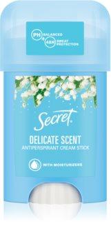 Secret Delicate krémový antiperspirant