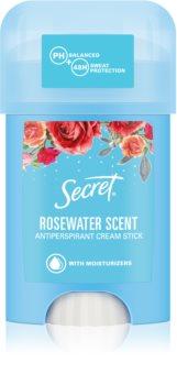 Secret Rosewater krémový antiperspirant