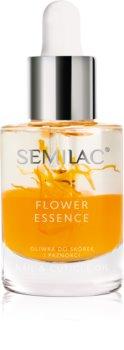 Semilac Paris Care Flower Essence huile hydratante ongles et cuticules