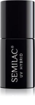 Semilac UV Hybrid Top vernis de protection gel pour une brillance sans résidu collant