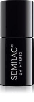 Semilac Paris UV Hybrid Top No Wipe Real Color vernis top coat gel